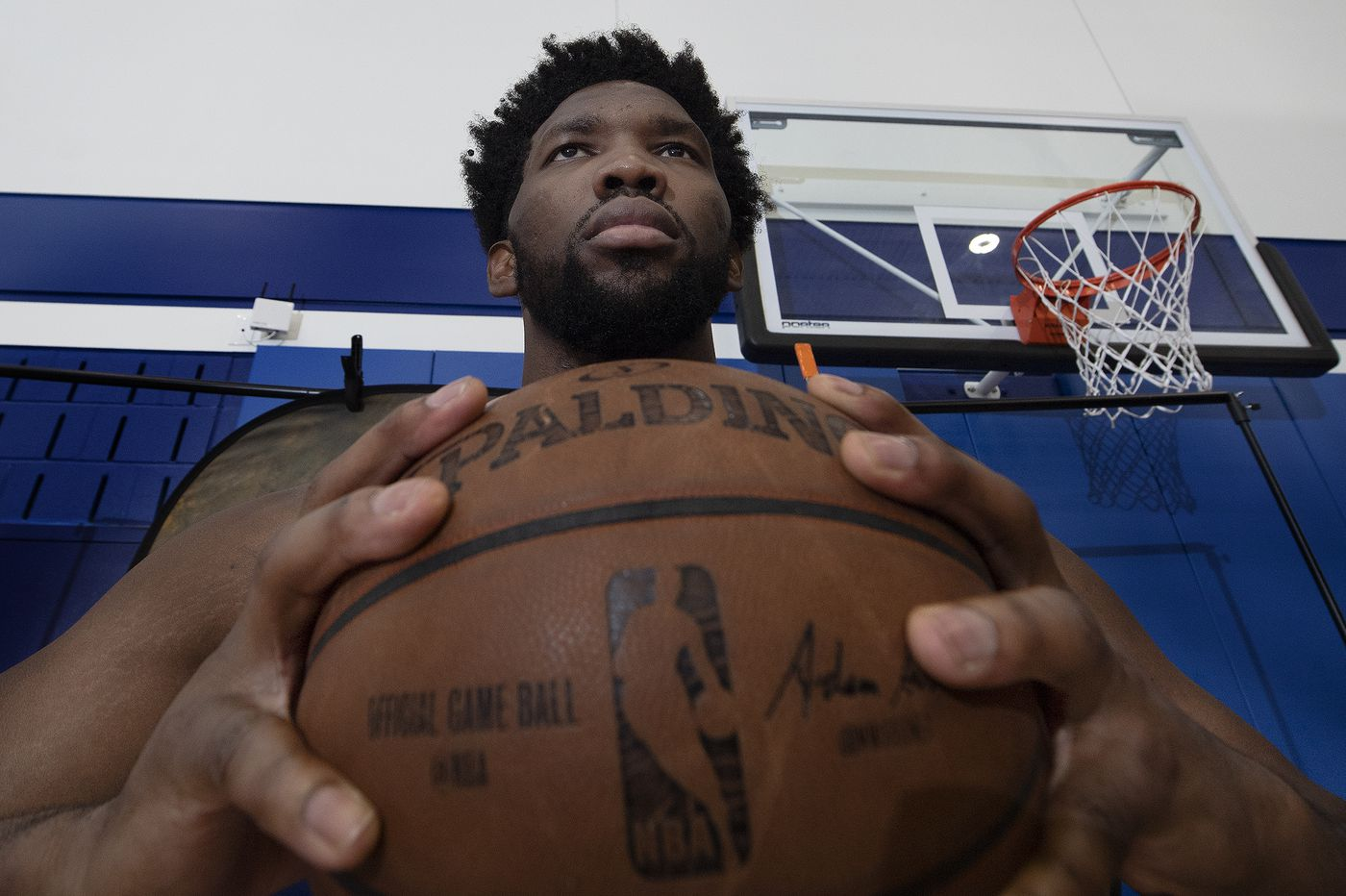 Sixers' Joel Embiid talks team and personal goals