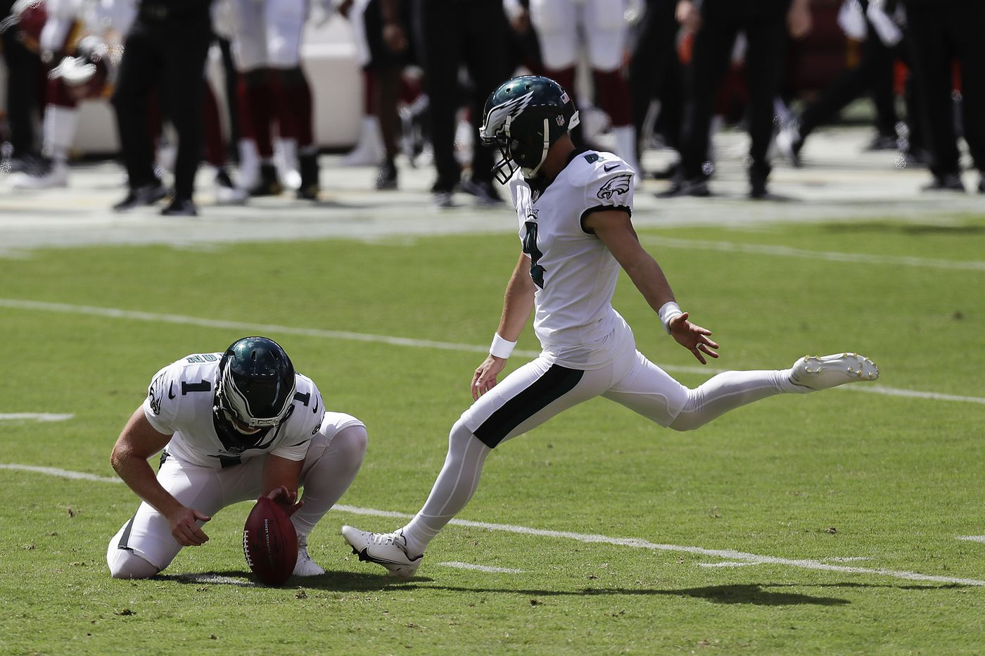 Eagles special teams coordinator Dave Fipp: That miss on the 53-yard field goal wasn't really Jake Elliott's fault