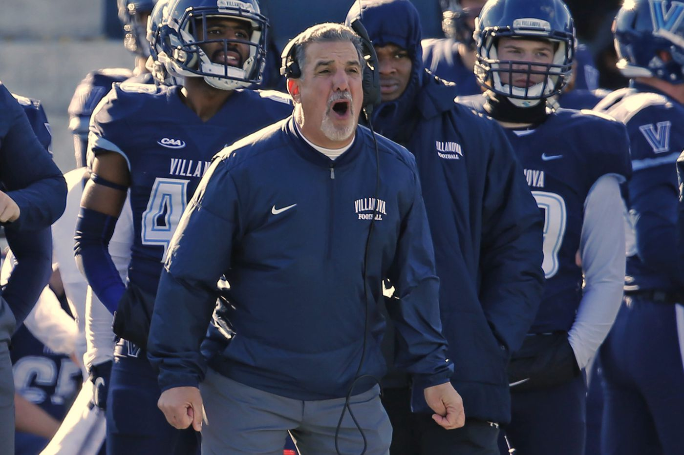Villanova football team looking for deja vu in Battle of the Blue