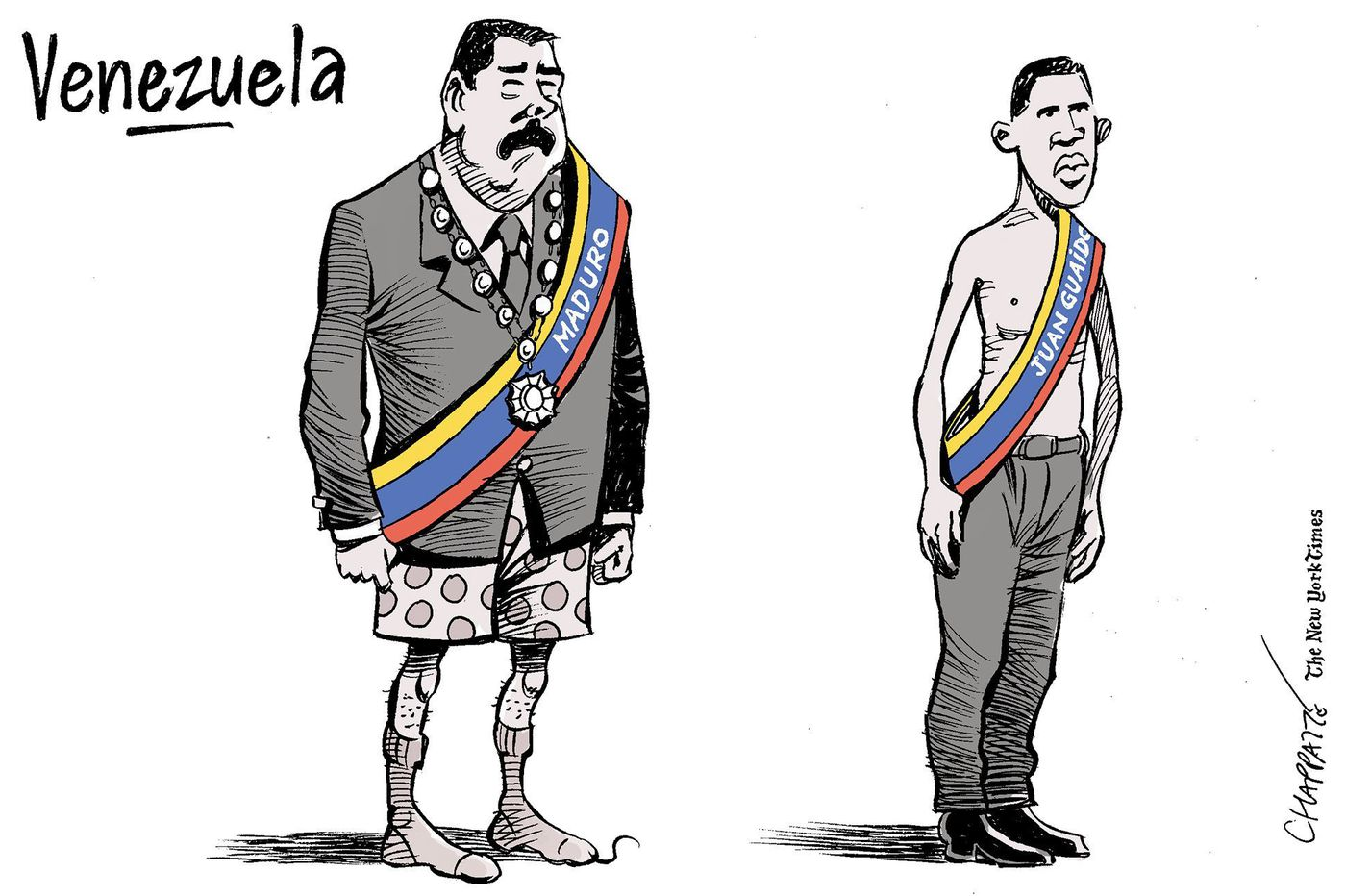 12 political cartoons that depict the political and humanitarian crisis in Venezuela | Opinion
