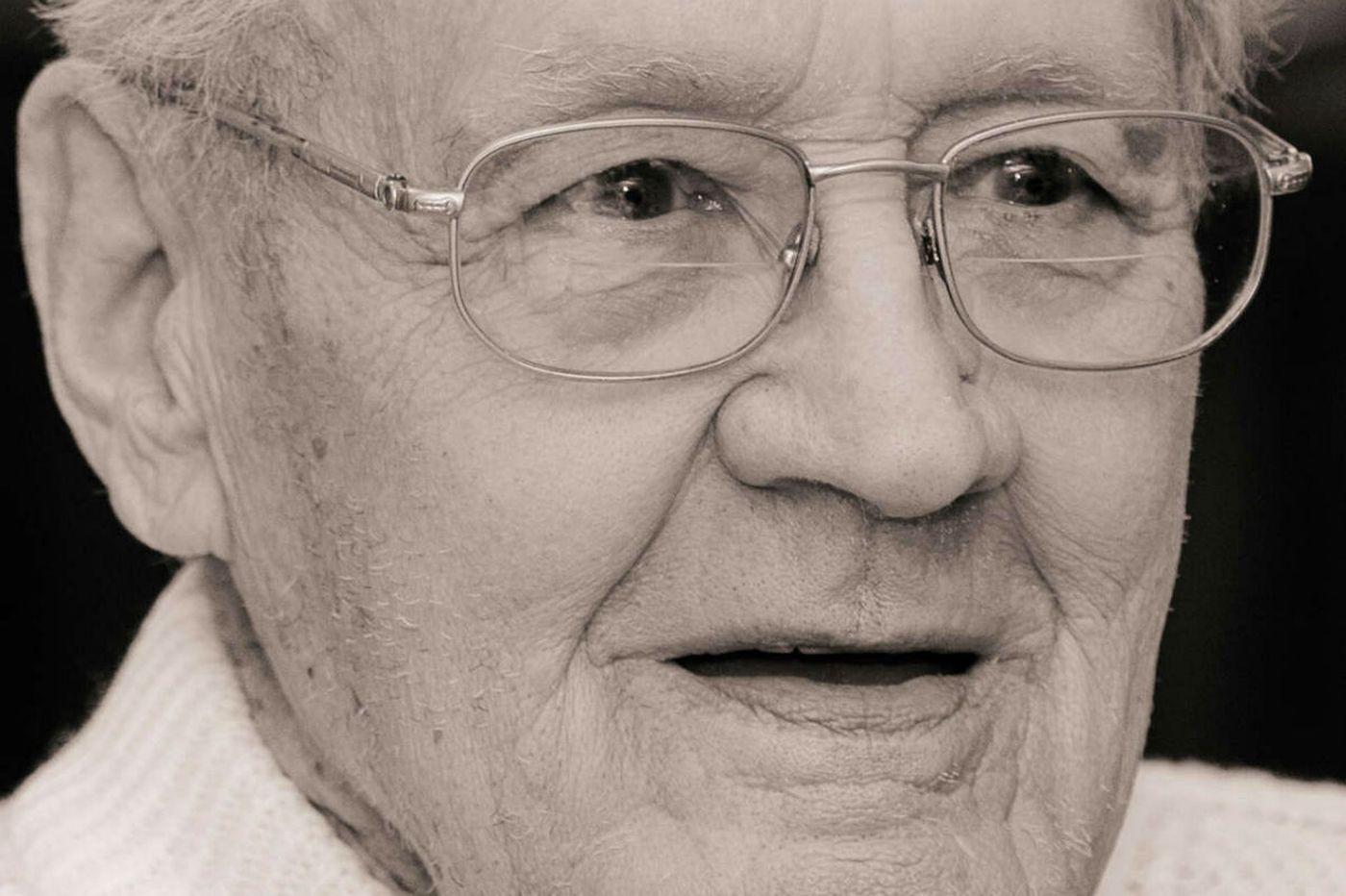 James Wallace Rapp, 92, civic leader in Malvern