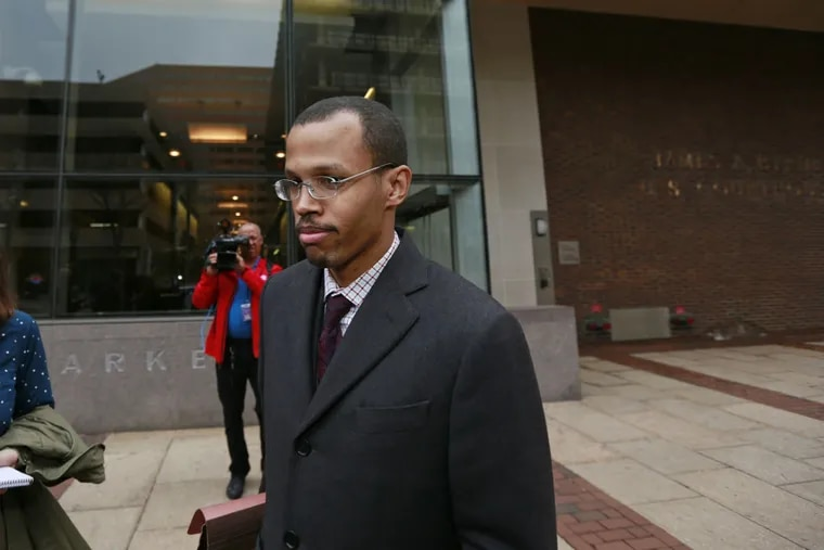 """Chaka """"Chip"""" Fattah Jr., convicted on 22 of 23 bank- and tax-fraud counts, says he'll appeal. A prosecutor said he faces a minimum of just over four years in prison."""