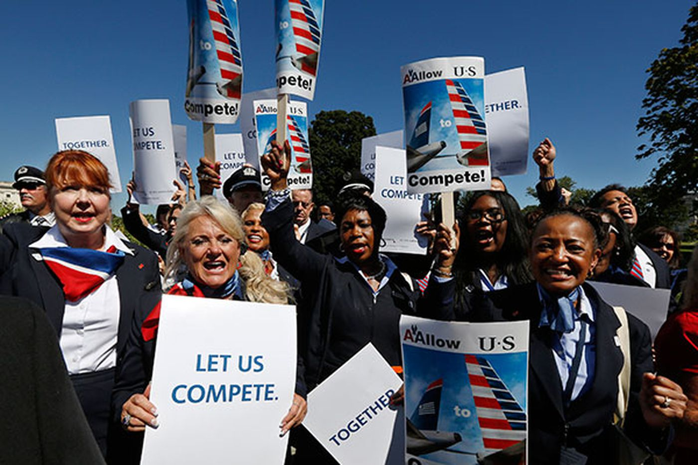 US Airways unions say 'critical issues' unresolved in merger