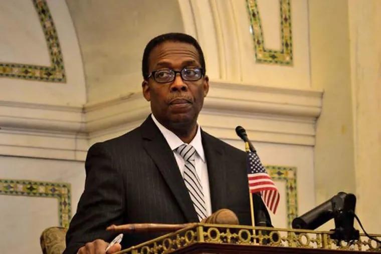 City Council President Darrell L. Clarke.