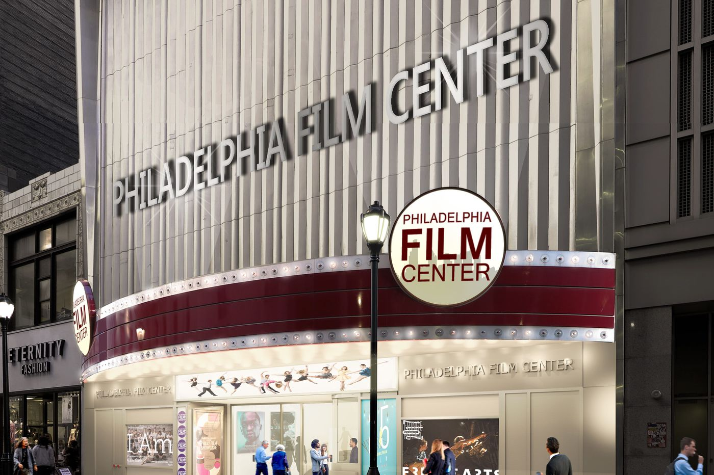 Prince Theater to rebrand as Philadelphia Film Center, with improvements scheduled for the future