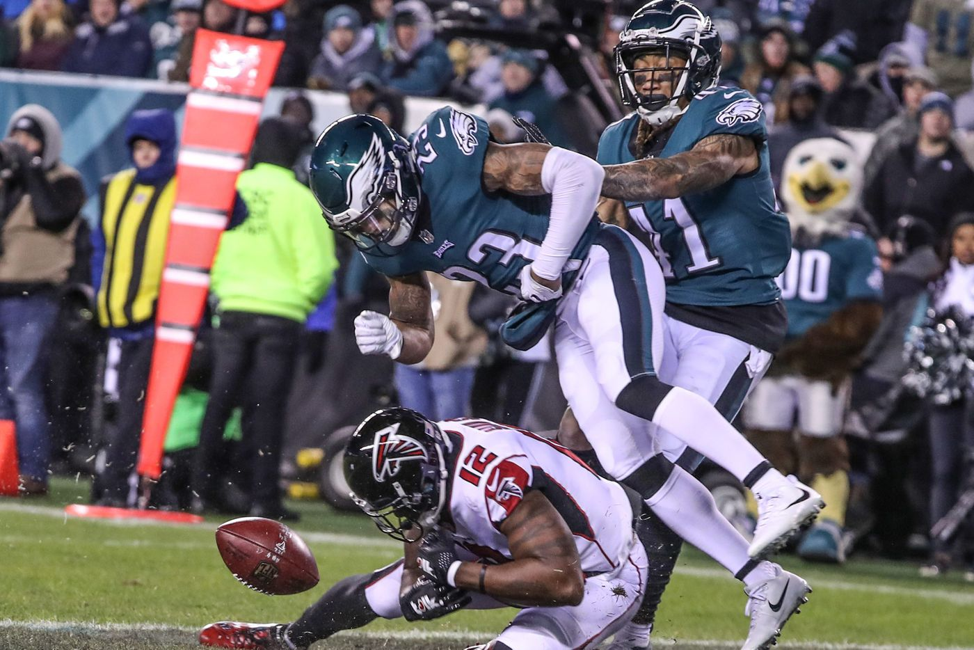 Eagles-Falcons: Statistics to know ahead of kickoff