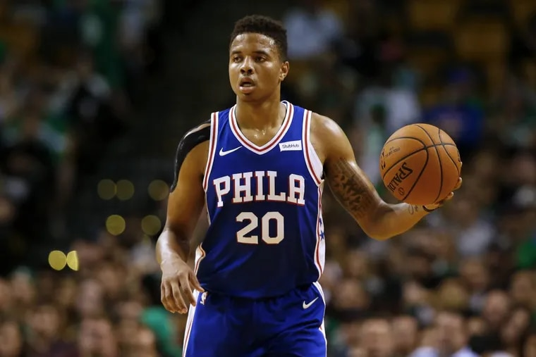 Markelle Fultz scored 12 points for the Sixers in Monday's preseason loss to Boston.
