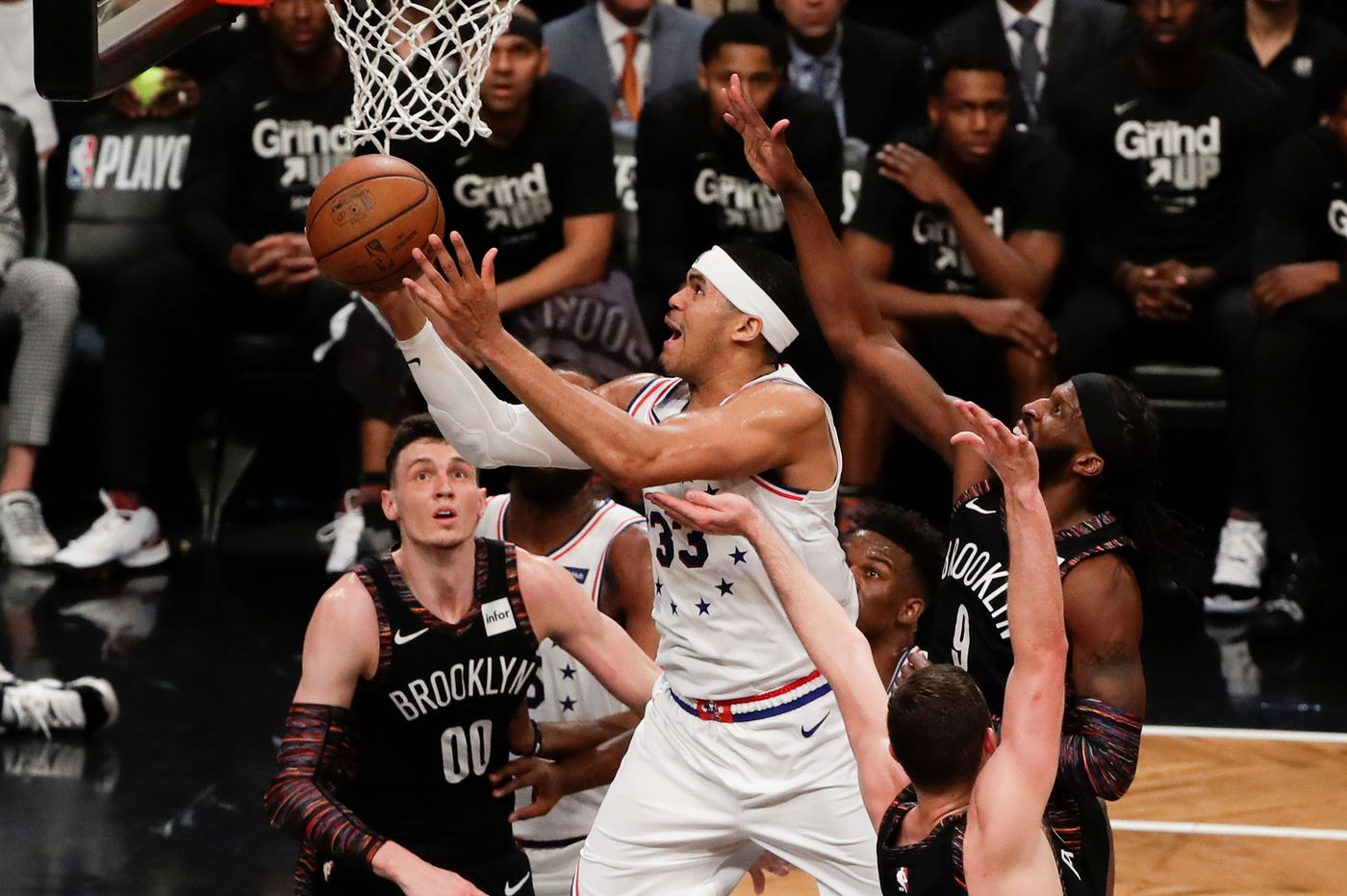 Sixers-Nets observations: Tobias Harris' advantage, effort; Brooklyn's early miscues
