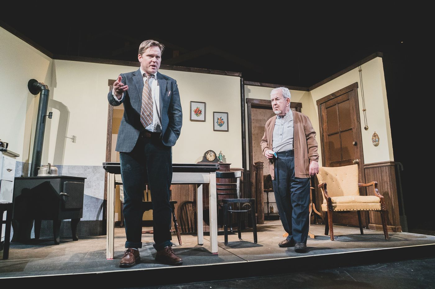 'Da' at Irish Heritage Theatre: A happy balance of blarney and heart onstage at Plays & Players