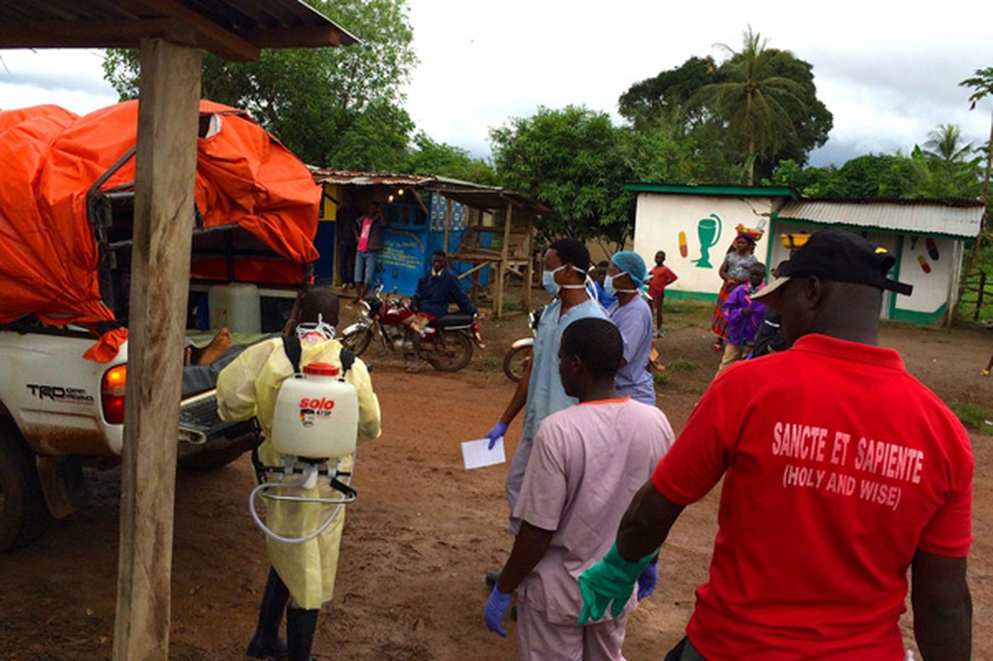 Report from an Ebola treatment center