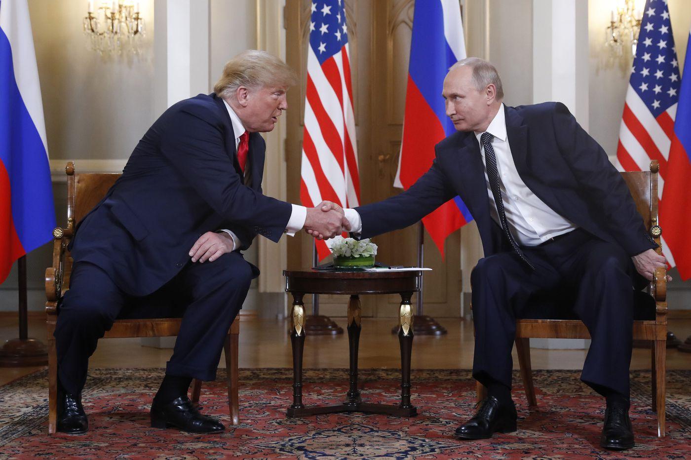Pa., N.J. Democrats, Republicans reject Trump comments at Putin summit