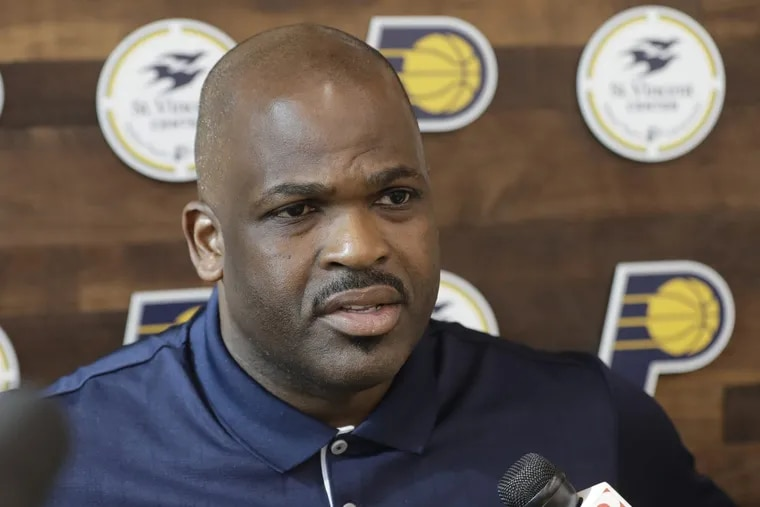 Pacers coach Nate McMillan.
