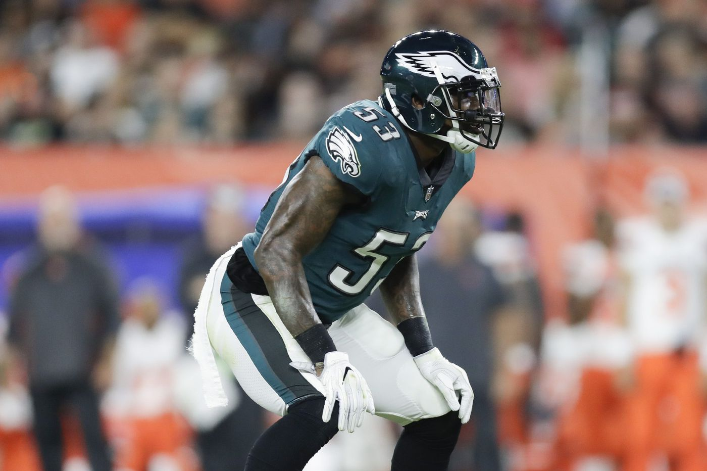 Eagles turn to Week 1 vs. Atlanta Falcons without suspended linebacker Nigel Bradham