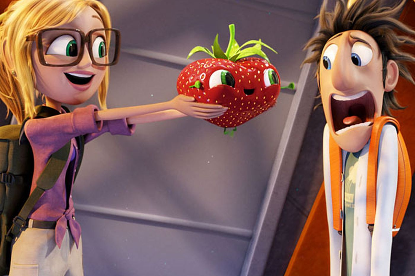 Kids will gobble up 'Cloudy With a Chance of Meatballs 2'