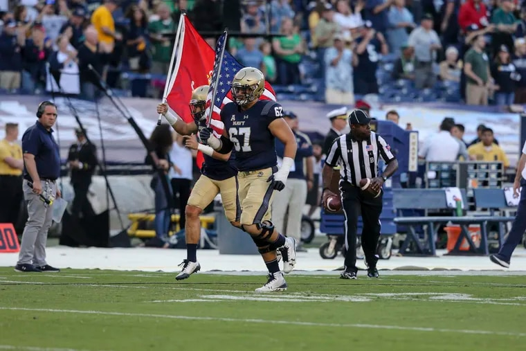 Chris Gesell will play his final college football gamef or Navy in Saturday's 119th Army-Navy Game at Lincoln Financial Field.