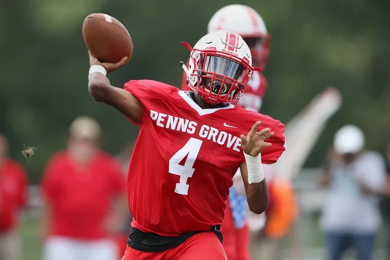 Penns Grove's Kavon Lewis has been battling a foot injury throughout the Red Devils' undefeated season.