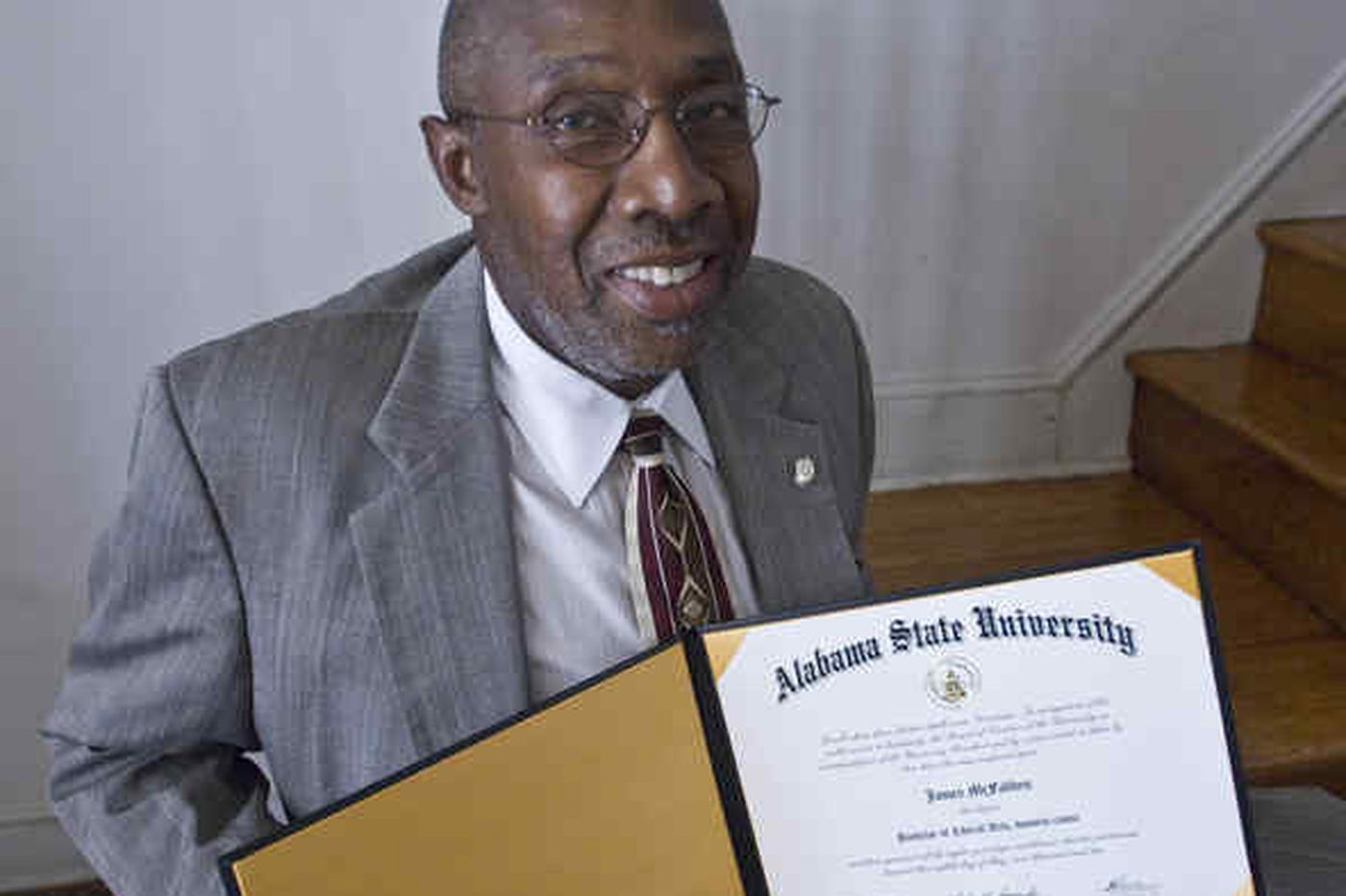 Annette John-Hall: Phila. man, '60s activist, finally gets Ala. degree