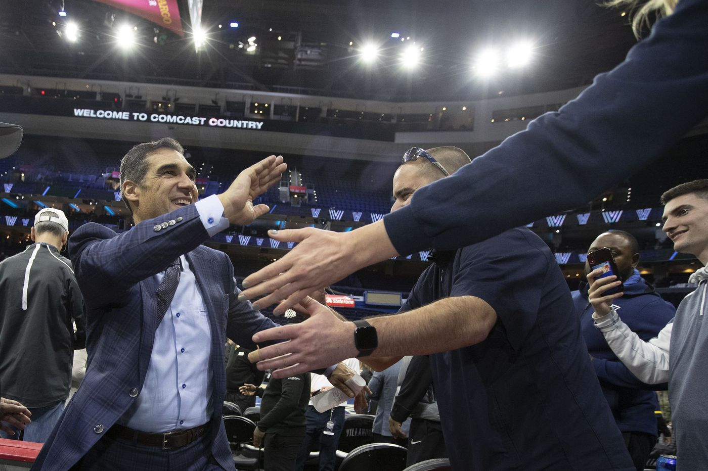 Villanova's Jay Wright says he is not a candidate for the 76ers' coaching job