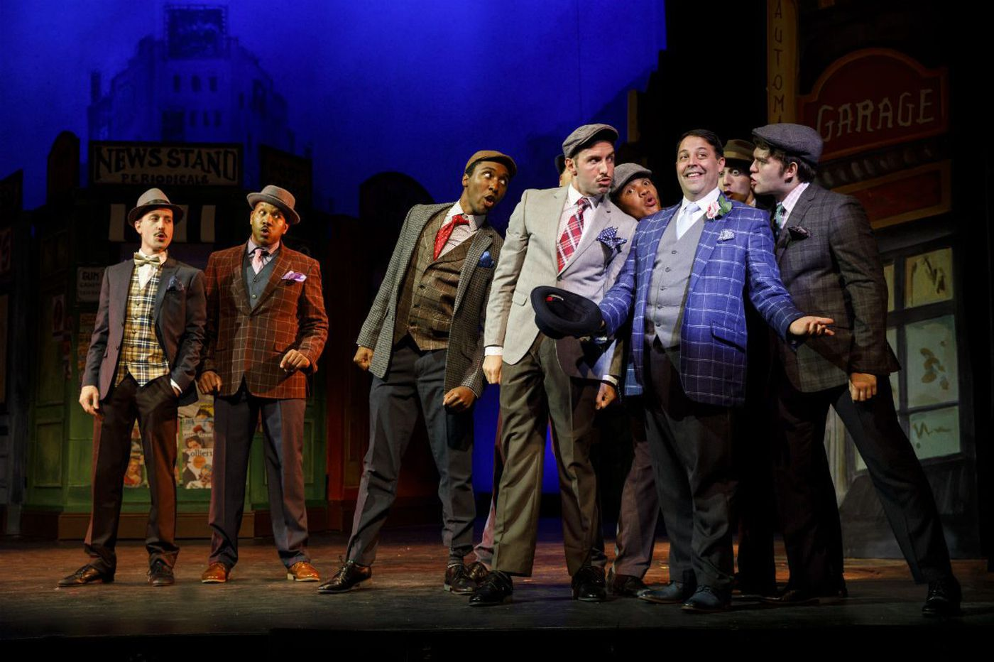 Bucks County's 'Guys and Dolls': True Broadway action on the banks of the Delaware
