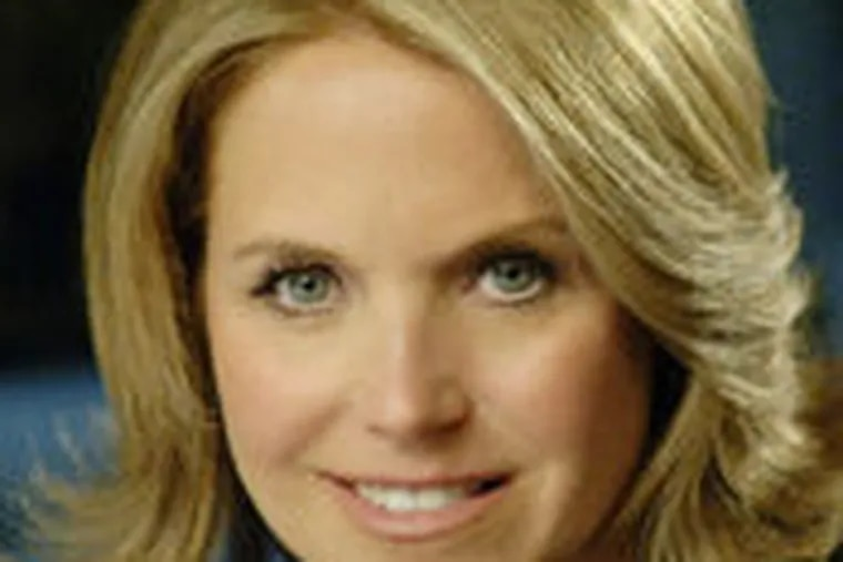 """""""These things don't turn around overnight,"""" says Katie Couric."""