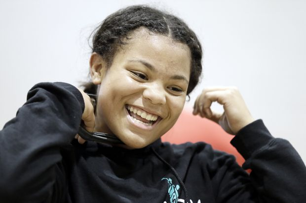 Timber Creek's Tiyanna Hooker is a (girls') wrestling sensation