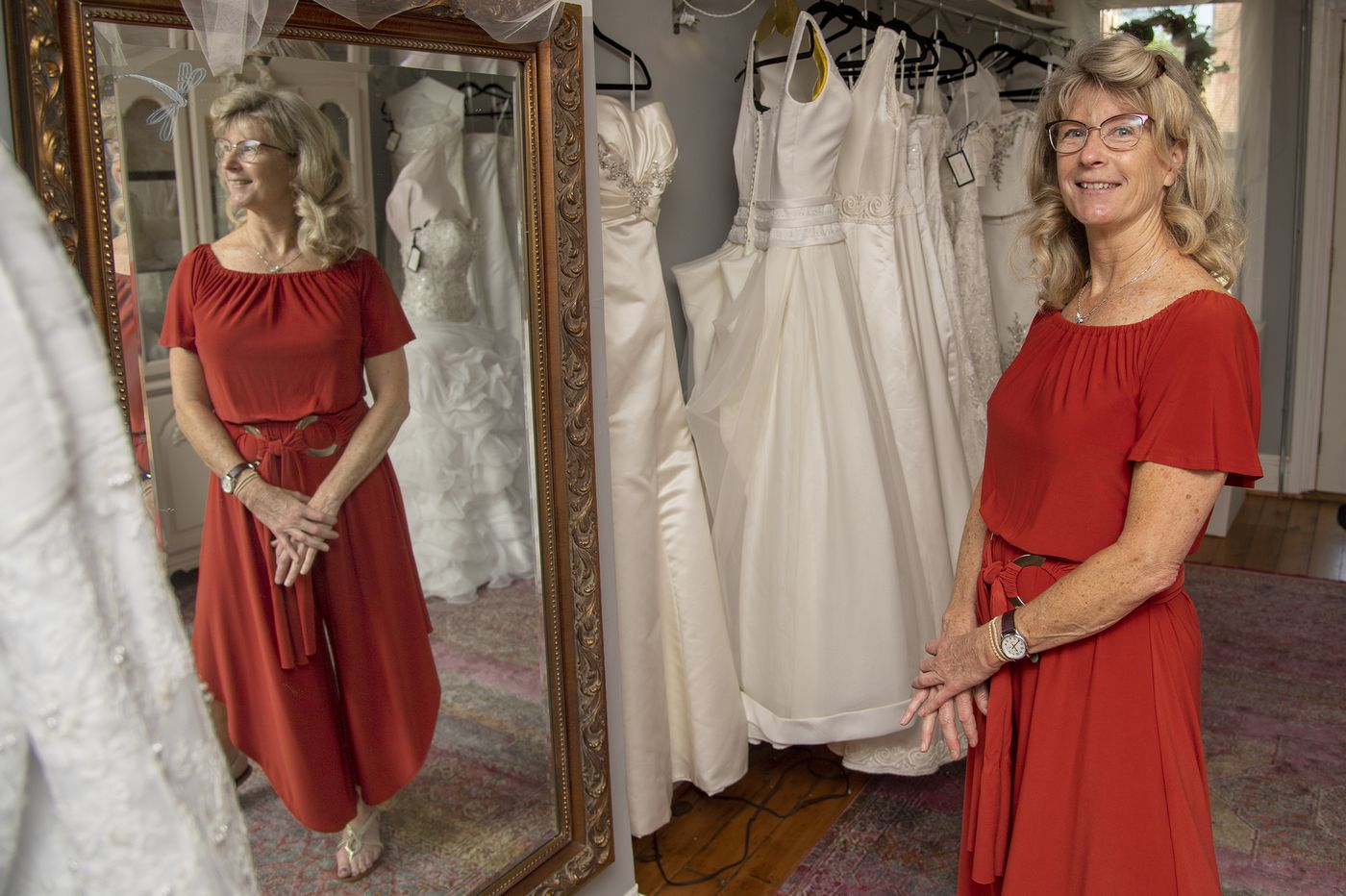 She's a hospice nurse. But her calling is Blessing Brides Ministry, where second-chance dresses make for the best love stories.
