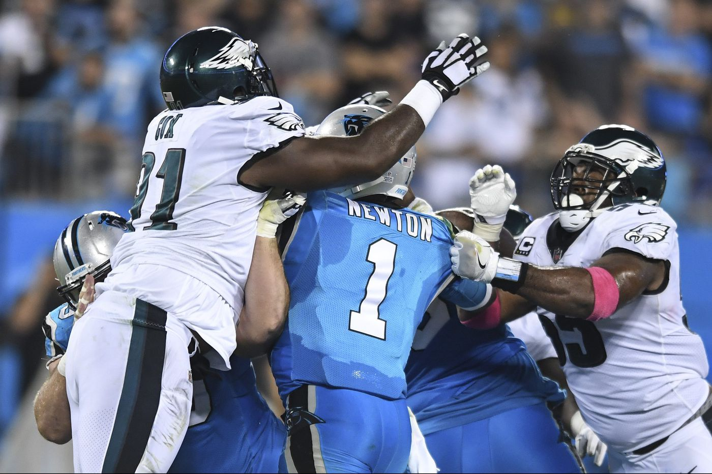 Sports betting: Numbers say Eagles sure Cam cover Sunday against Newton and Carolina