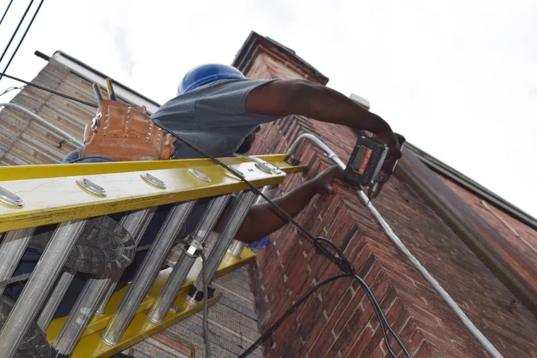 The Philadelphia Housing Development Corporation's Basic Systems Repair Program offers free house repairs for low-income homeowners. Eligible repairs are those that are essential for a house to remain habitable, such as electrical, leaks, and structural repairs.