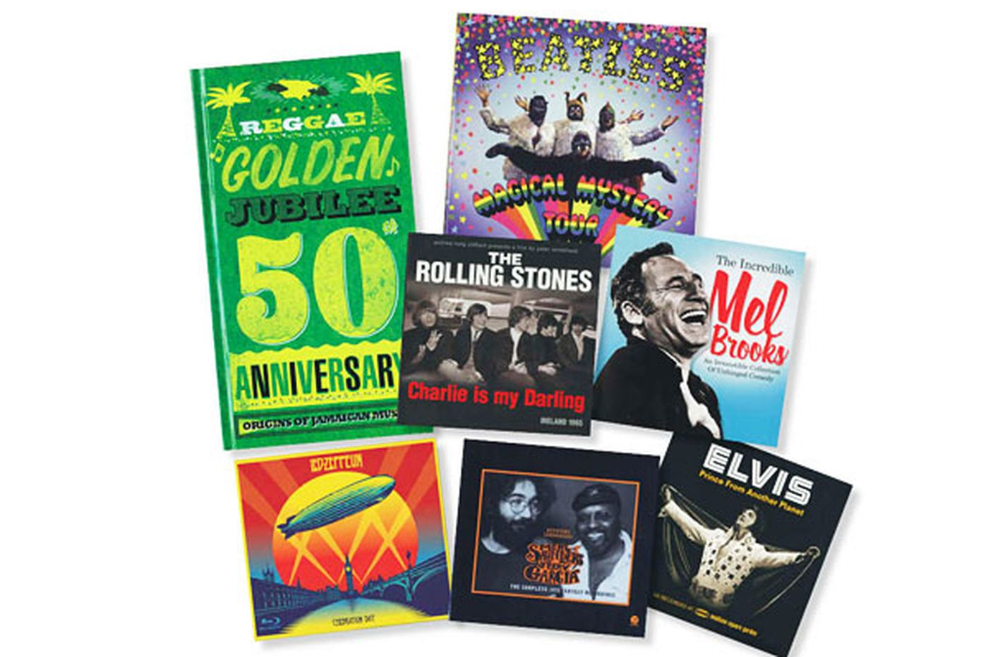 Give the gift of music with rockin' boxsets