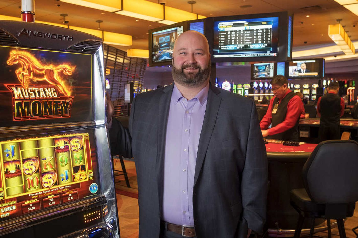 At Valley Forge casino, new CEO bets on new slots