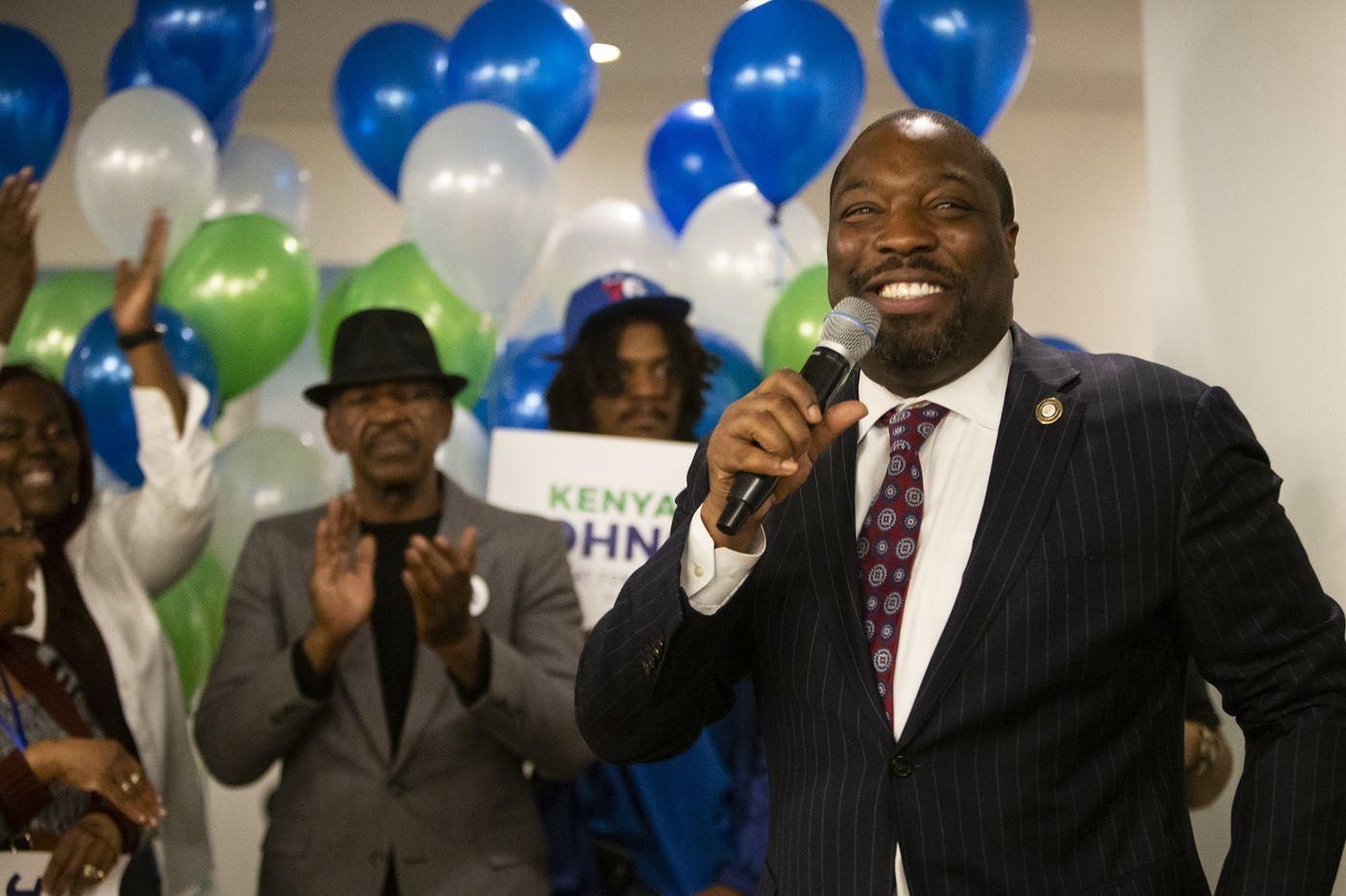 In a changing district, Councilman Kenyatta Johnson easily wins Democratic nomination
