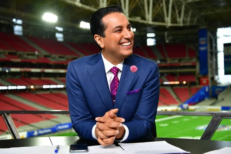 """""""SportsCenter"""" anchor Kevin Negandhi, a Temple grad and Phoenixville native, will anchor ABC's coverage of the 2021 NBA draft Thursday night."""