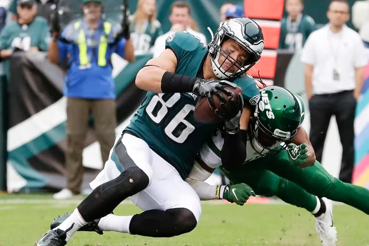 Will tight end Zach Ertz be a factor against the Bills?