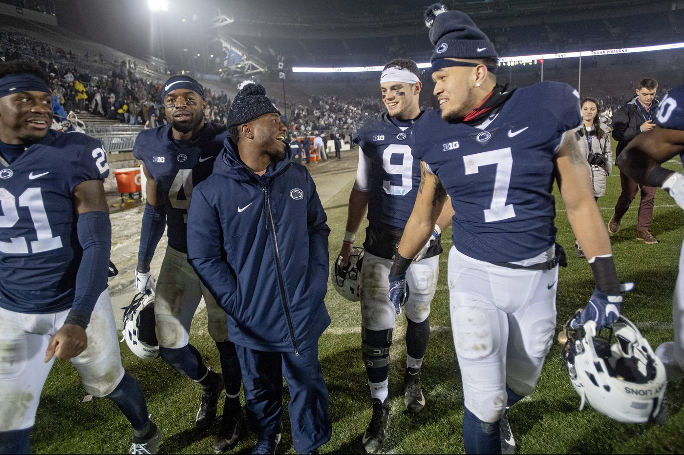 Penn State seniors take victory lap at Beaver Stadium