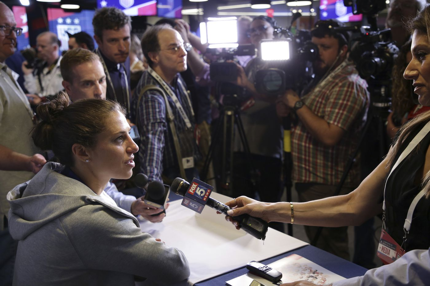 Carli Lloyd is as driven as ever as U.S. women's soccer team heads to France for World Cup