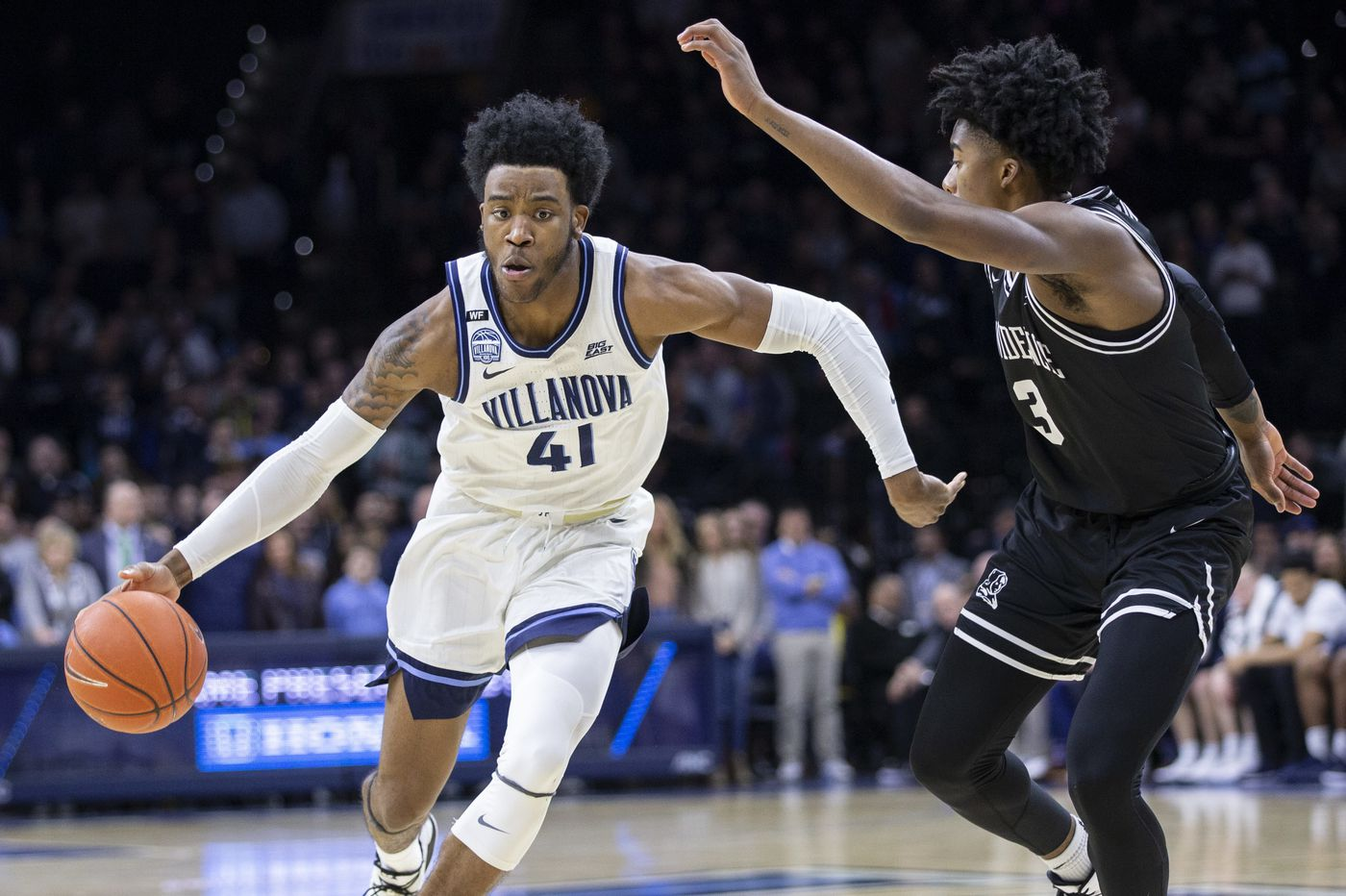 Villanova's Saddiq Bey selected 19th by the Brooklyn Nets in the first round of the NBA Draft, likely headed to Detroit