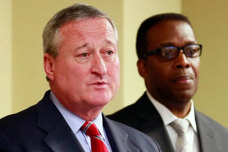 Mayor-elect Jim Kenney and Council President Darrell L. Clarke speak well of Council-mayor cooperation in the Rendell-Street years. Clarke and Mayor Nutter, by contrast, are not so friendly.