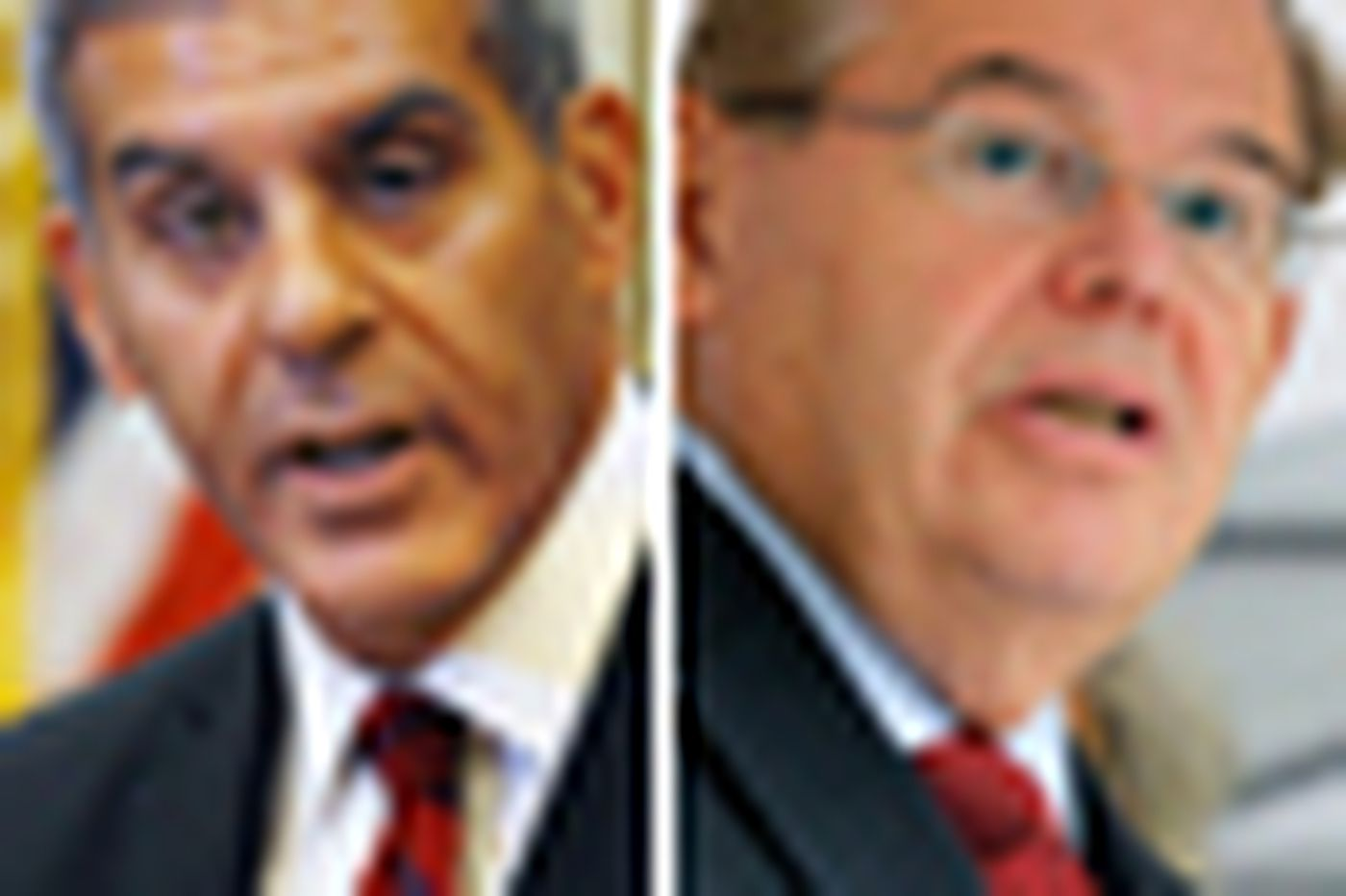 In N.J., Menendez and Kyrillos wage a (mostly) tame campaign for Senate