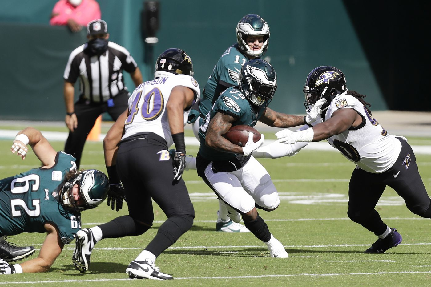 A maximum Miles Sanders should help Carson Wentz and the Eagles | Jeff McLane