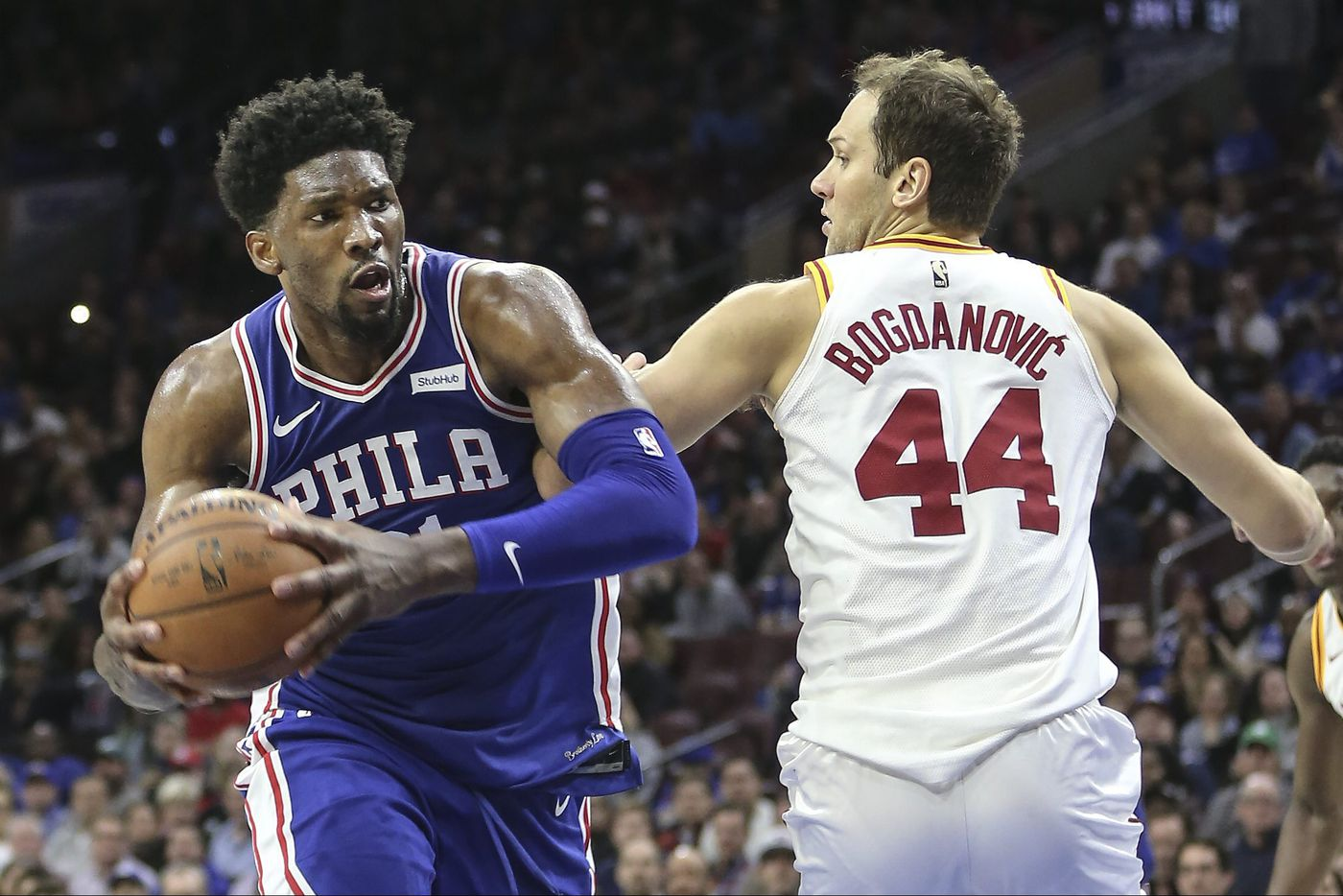 Sixers want Joel Embiid bullying defenders down low