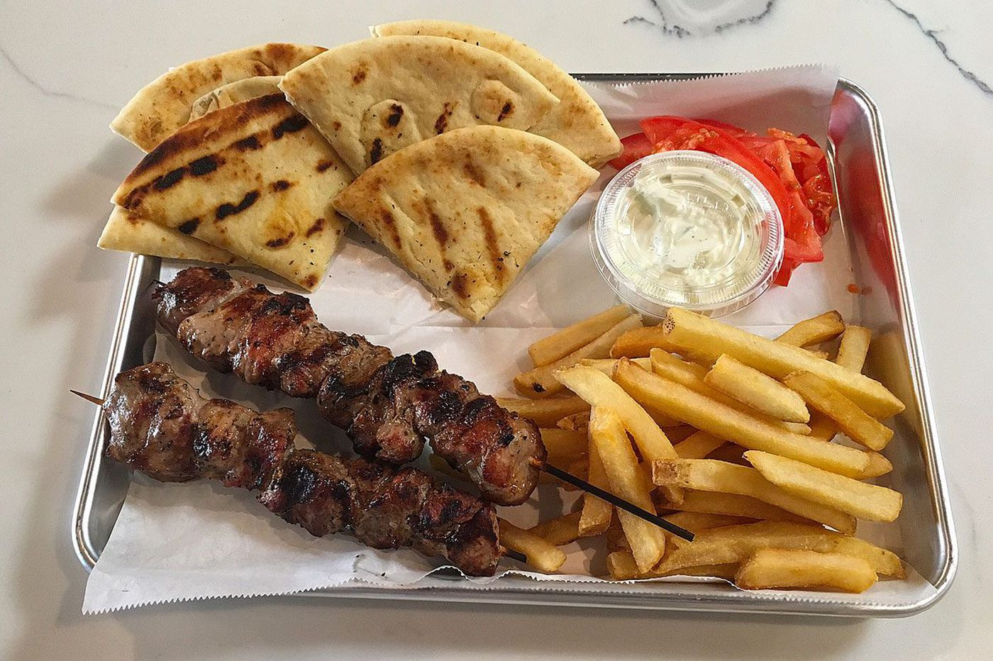 Yeeroh, fast-casual Greek food, comes to Broad and South