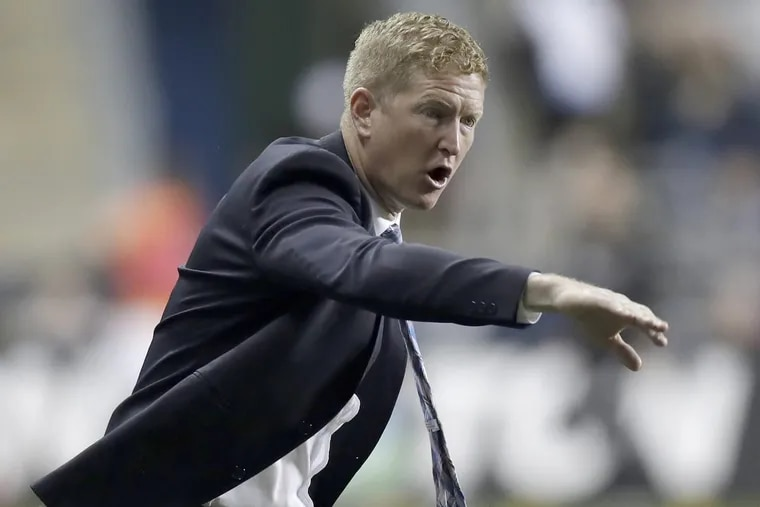 Philadelphia Union manager Jim Curtin believes strongly in his team's system-based tactical approach to playing soccer.