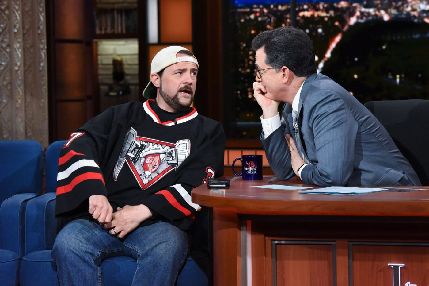 Smoking weed before massive heart attack saved Kevin Smith's life, director says
