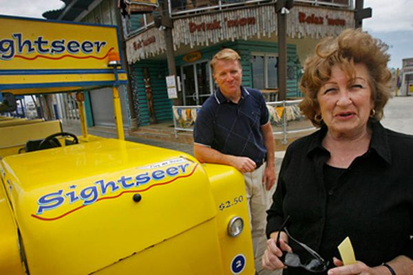 Wildwood's boardwalk trams a perennial attraction