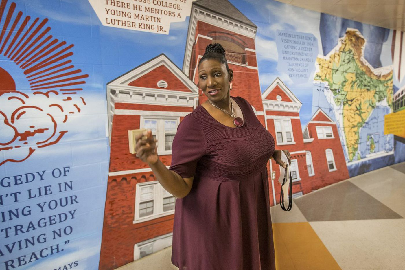 In jail, a school of second chances, and one of Philly's best principals