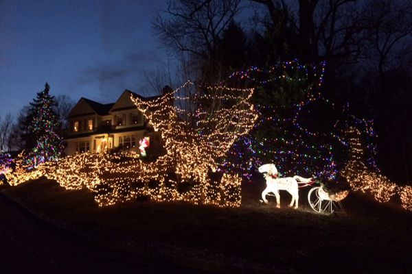 Happy Holidays: Why some families go the extreme with their light displays