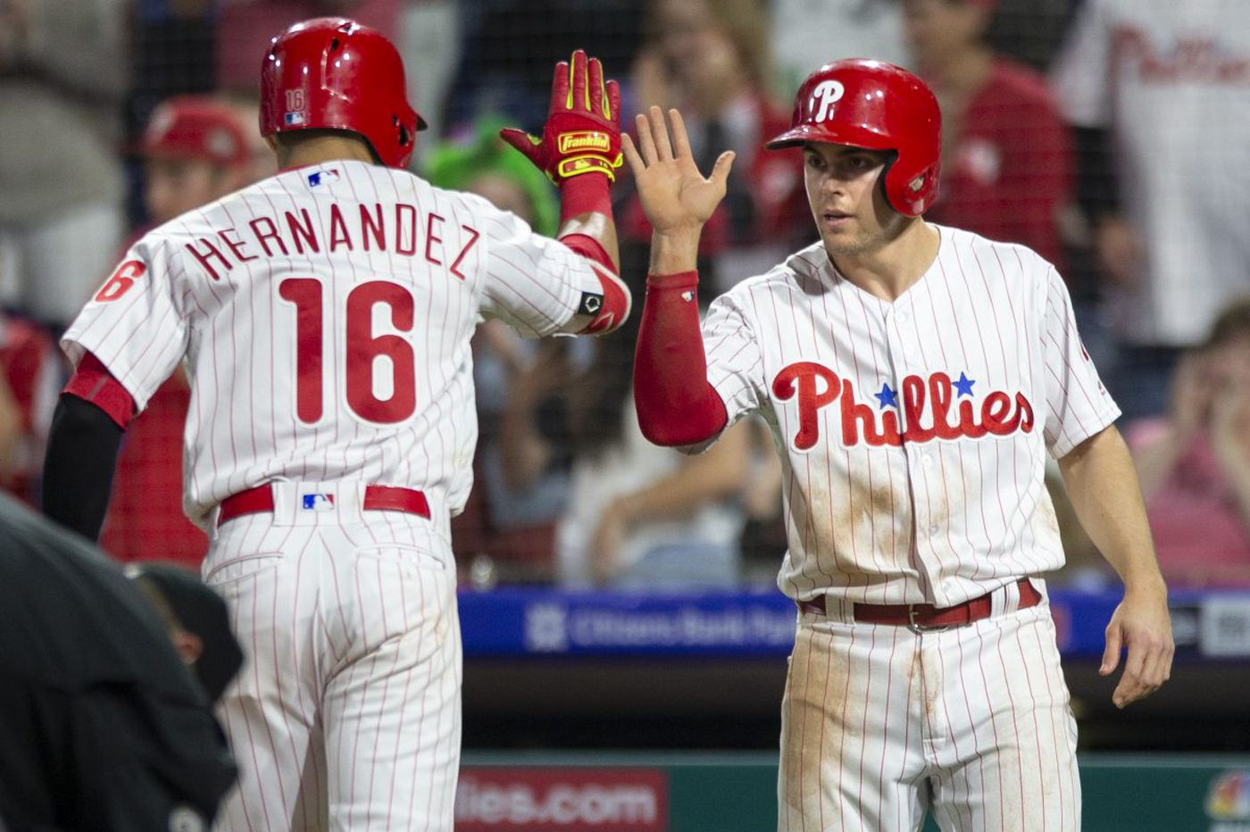 Phillies hit four homers and Zach Eflin shines in 11-0 rout of Giants