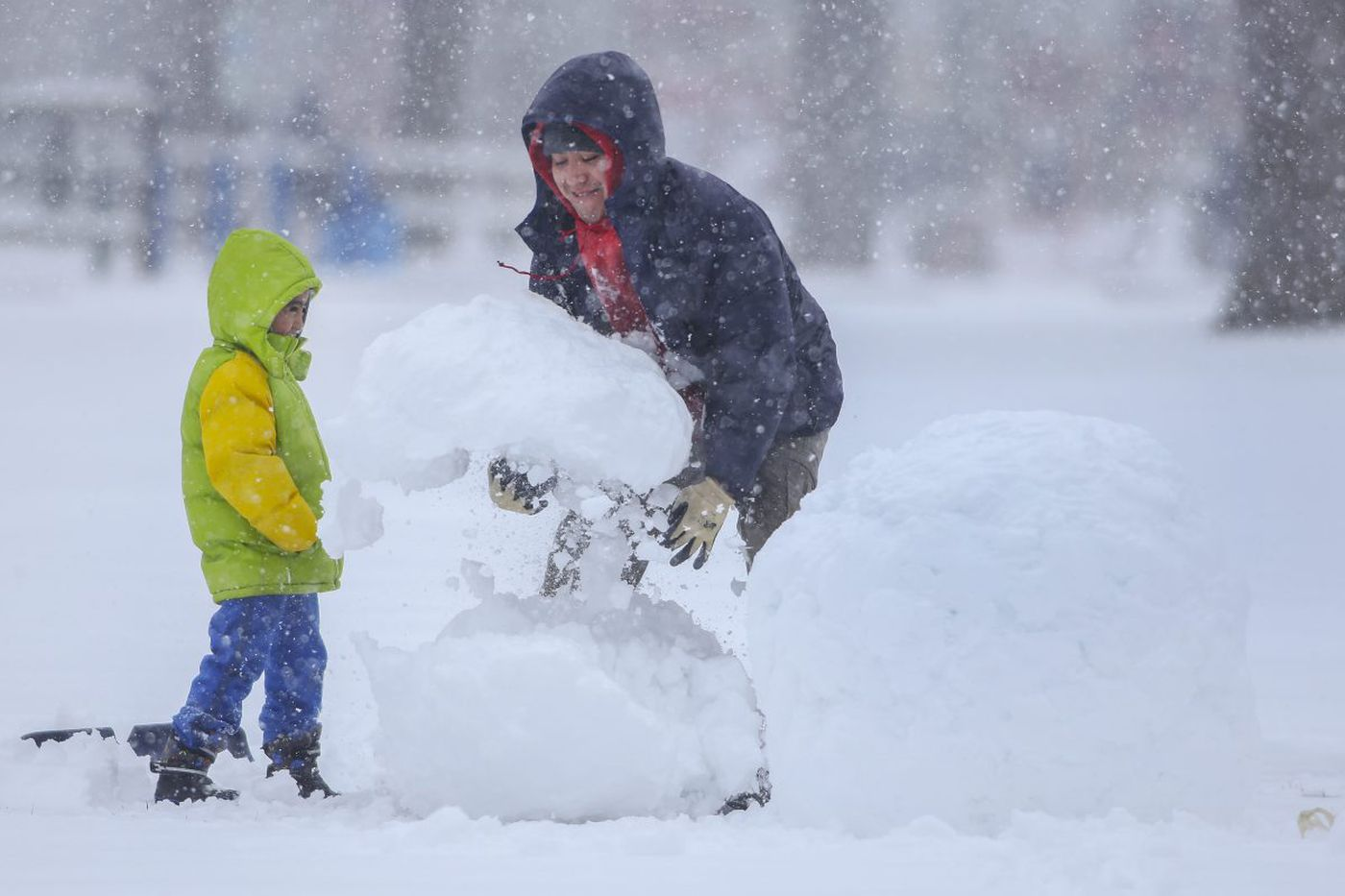Biggest snow of the season … so why wasn't it more disruptive?