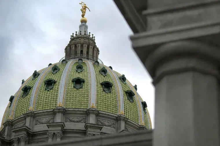 Politicians in Harrisburg wrangle and stall over medical marijuana. (PAUL TAGGART / Bloomberg, File)