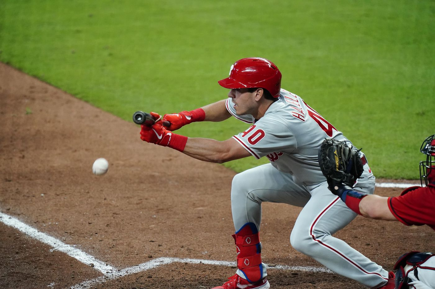 Phillies not ready to give Adam Haseley regular at-bats against left-handed pitching